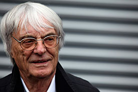 Bernie Ecclestone, German GP, 2011