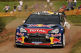 Sebastien Ogier, Citroen, Germany 2011