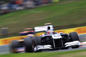 Rubens Barrichello, Williams, Hungaroring 2011
