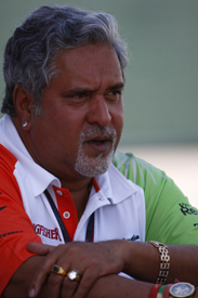 Vijay Mallya Force India 2011