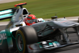 Michael Schumacher Mercedes 2011 Hungarian Grand Prix