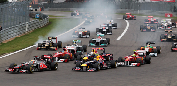 start 2011 German Grand Prix