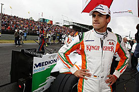 Adrian Sutil, Force India, 2011
