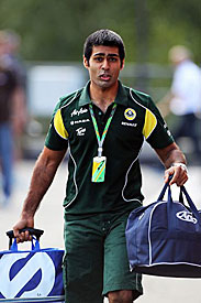 Karun Chandhok, Spa, 2011