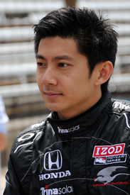 Ho-Pin Tung Dragon Racing IndyCar Indianapolis 500 2011