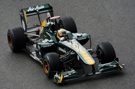 Karun Chandhok Lotus 2011 Belgian GRand Prix