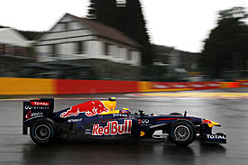 Mark Webber, Red Bull, Spa 2001