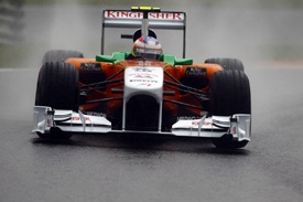 Paul di Resta, Force India, Spa 2011