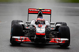 Jenson Button, Spa, 2011