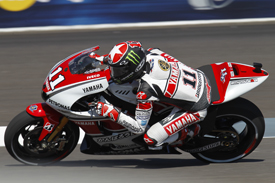 Ben Spies Yamaha 2011 Indianapolis Grand Prix