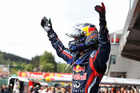 Sebastian Vettel, Red Bull, Spa