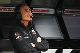 Martin Whitmarsh, McLaren, Spa 2011