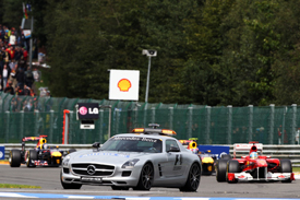 Safety car 2011 Belgian Grand Prix