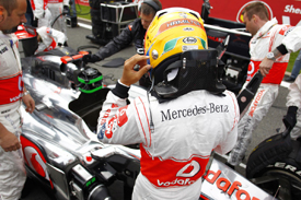 Lewis Hamilton, McLaren, Spa