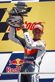 Casey Stoner Honda 2011 Indianapolis GRand Prix MotoGP