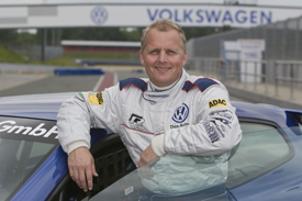 Johnny Herbert Volkwsagen Scirocco Cup 2010