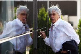 Bernie Ecclestone 2011 Belgian Grand Prix