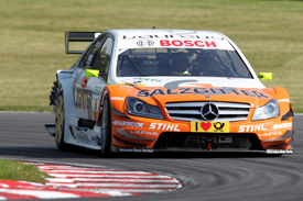 Ralf Schumacher HWA Mercedes DTM Brands Hatch 2011