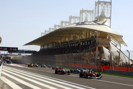 Bahrain Grand Prix start 2010