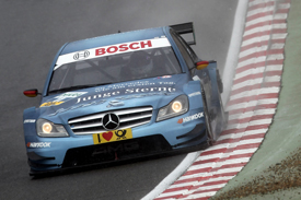 Christian Vietoris Persson Mercedes DTM 2011 BRands Hatch