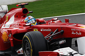 Ferrari building 'unbeatable structure'