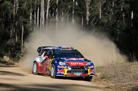 Sebastien Ogier, Citroen, Australia 2011