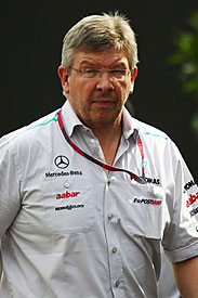 Ross Brawn, Mercedes, Monza
