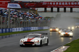 Stefan Mucke/Darren Turner, Young Driver Aston Martin, lead at Beijing