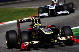 Bruno Senna Renault 2011 Italian Grand Prix