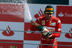 Fernando Alonso Monza 2011
