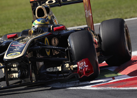 Bruno Senna, Renault, Monza 2011