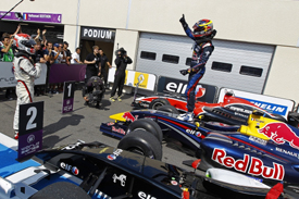 Jean-Eric Vergne wins at Paul Ricard