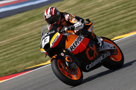 Marc Marquez Cataluna Suter 2011 German Grand Prix Moto2