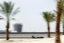 Nico Rosberg, Mercedes, Bahrain 2010