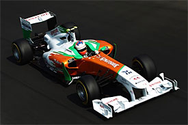 Force India pushing to secure sixth