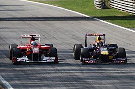 Vettel: Alonso Monza defence borderline