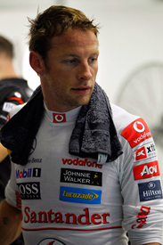 Jenson Button Singapore 2011