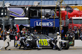 Jimmie Johnson, Hendrick Chevrolet, Chicagoland 2011