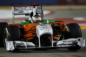Adrian Sutil, Force India, Singapore 2011