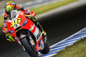 Valentino Rossi, Ducati, Motegi 2011