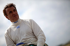 Jean Alesi oversaw the test