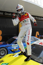 Martin Tomczyk Phoenix Audi DTM 2011 Valencia