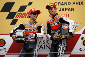 Motegi was good for both Dani Pedrosa and Casey Stoner