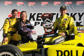 Sarah Fisher Racing wins at Kentucky