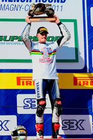 Chaz Davies 2011 World Supersport