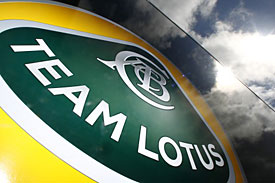 Team Lotus logo, 2011
