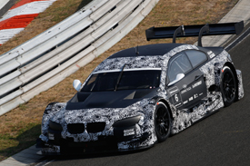 BMW M3 DTM Hungaroring test 2011