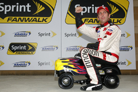 Greg Biffle takes Kansas pole