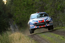 Guy Wilks, Peugeot UK, Scotland 2011