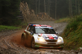 Andreas Mikkelsen, Skoda UK, Scotland 2011
